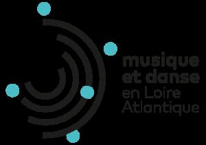 Logo musique et danse en loire atlantique
